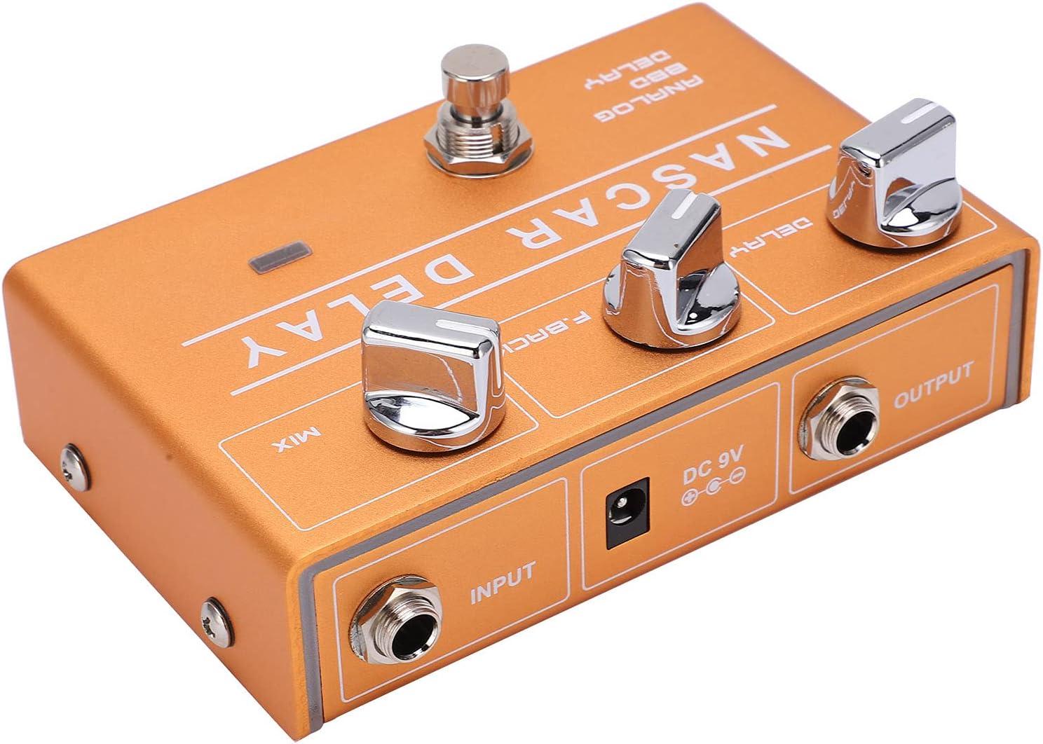 Pedal de efectos de guitarra, pedales de guitarra portátiles para principiantes para guitarra y bajo