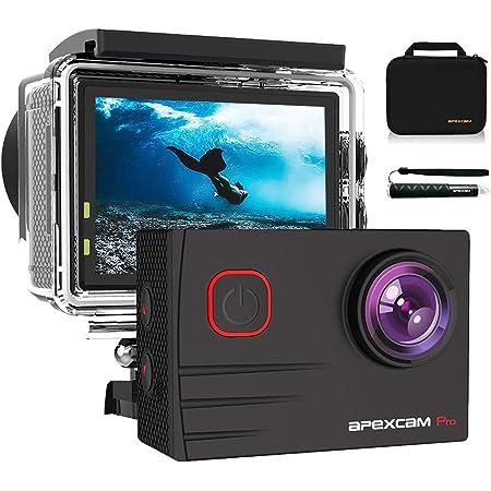 98ft Unterwasser wasserdichte Kamera 16MP 4K//30FPS 170 Grad Weitwinkel WiFi Sportkamera Hightech-Sensor mit Fernbedienung//Akku und 50-in-1 Zubeh/örset Neewer G1 Ultra HD 4K Action Kamera Set blau