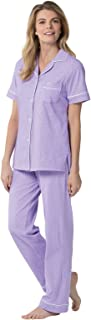 Pajama Set for Women - Pajamas for Women Cotton, Short Sleeve