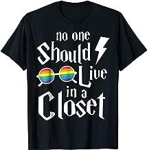 NO ONE SHOULD LIVE IN A CLOSET SHIRT
