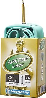 ミシュラン Michelin ラテックスチューブ 26''x1.90-2.20(ETRTO 47/57-559) MTB C4 AIRCOMP [並行輸入品]