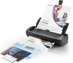 Plustek AD480 - Desktop Scanner for Card and Document, with 20 Page Paper Feeder and Exclusive Card Slot. for Windows only photo