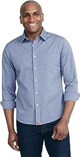 Pio Cesare - Untucked Shirt for Men Long Sleeve,...