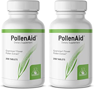 PollenAid Clinical Dosage of Graminex G63 Flower Pollen Extract - Full Spectrum Supplement for Prostate, Liver, Menopausa...