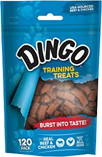 Dingo Training Treats for Dogs 102 g, 120 Count