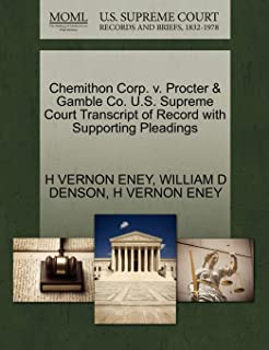 Chemithon Corp. V. Procter & Gamble Co.