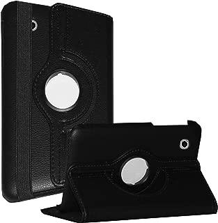 JYtrend Case for Galaxy Tab 2 7.0, Rotating Stand Cover for Samsung Galaxy Tab 2 7-inch GT-P3100 GT-P3110 GT-P3113 GT-P3113TSYXAR GT-P3110ZWABTU GT-P3110ZWADBT GT-P3100ZWABTU GT-P3100GRADBT (Black)