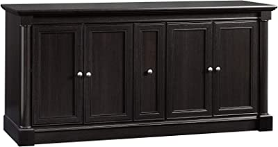 """Sauder Palladia Entertainment Credenza, For TV's Up To 70"""", Wind Oak finish"""