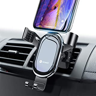 VICSEED Cell Phone Holder for Car, Upgraded Gravity Car Phone Mount, Auto-Clamping Air Vent Phone Holder Fits iPhone 11 Pro Max Xs Max Xr X 8 7 6 Plus, Fits Samsung Galaxy Note 10 9 S10+ S9 LG Etc.