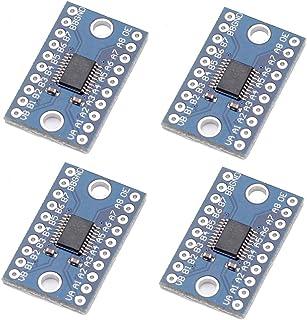 Icstation TXS0108E 8 Channel Logic Level Converter 3.3V 5V Bidirectional High Speed Full Duplex for Arduino Raspberry Pi (Pack of 4)