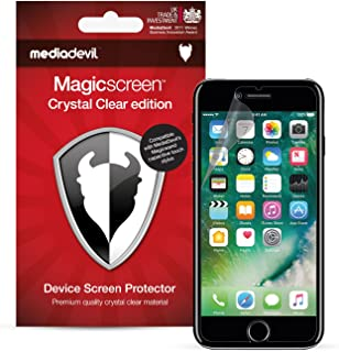 MediaDevil Apple iPhone 8 / iPhone 7 Screen Protector - Crystal Clear Edition [2-Pack]
