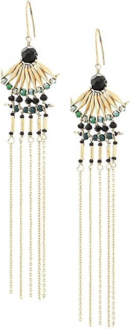 Lucky Brand - Beaded Fringe Earrings