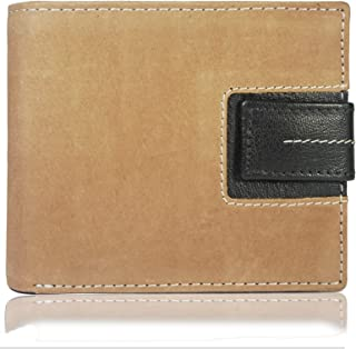 Bullz - Genuine Bifold Leather Wallet for Men | With Credit Card & ID Holders