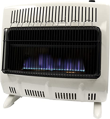Mr. Heater 30,000 BTU Vent Free Blue Flame Natural Gas Heater MHVFB30NGT: image