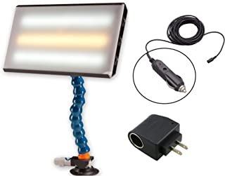 """DentMagicTools.com PC LED 130 PDR 13"""" Portable 12V CWC LED Light with 110 Converter Paintless Dent Repair"""