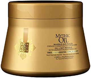 L'Oreal Paris Professionnel Mythic Light Masque with Osmanthus & Ginger Oil (Normal to Fine Hair), 200 ml