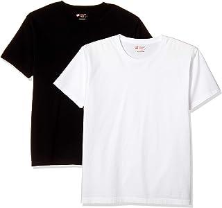 [ヘインズ] Tシャツ 2枚組 綿100% 2P Japan Fit クルーネックTシャツ アンダーウェア-メンズ H5320