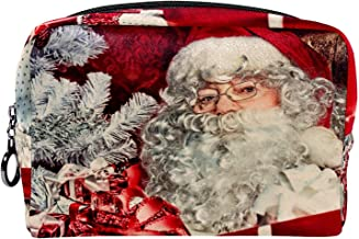 Cosmetische tas make-up tas reizen cosmetische zakje clutch portemonnee toilettas kerst thema santa