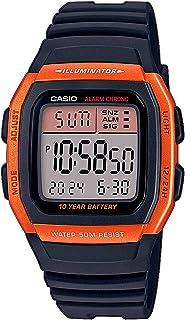 CASIO W-96H - Reloj Digital de Cuarzo con Correa de Resina para Hombre