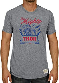 Original Retro Brand Marvel Men's Tri Blend Tshirt Officially Licensed