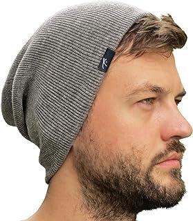 Grace Folly Slouch Beanie Cap Winter Hat for Men or Women (Many Colors)
