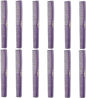Barber Beauty Hair Cleopatra 400 All Purpose Comb (12 Pack) 12 x SB-C400-PURPLE