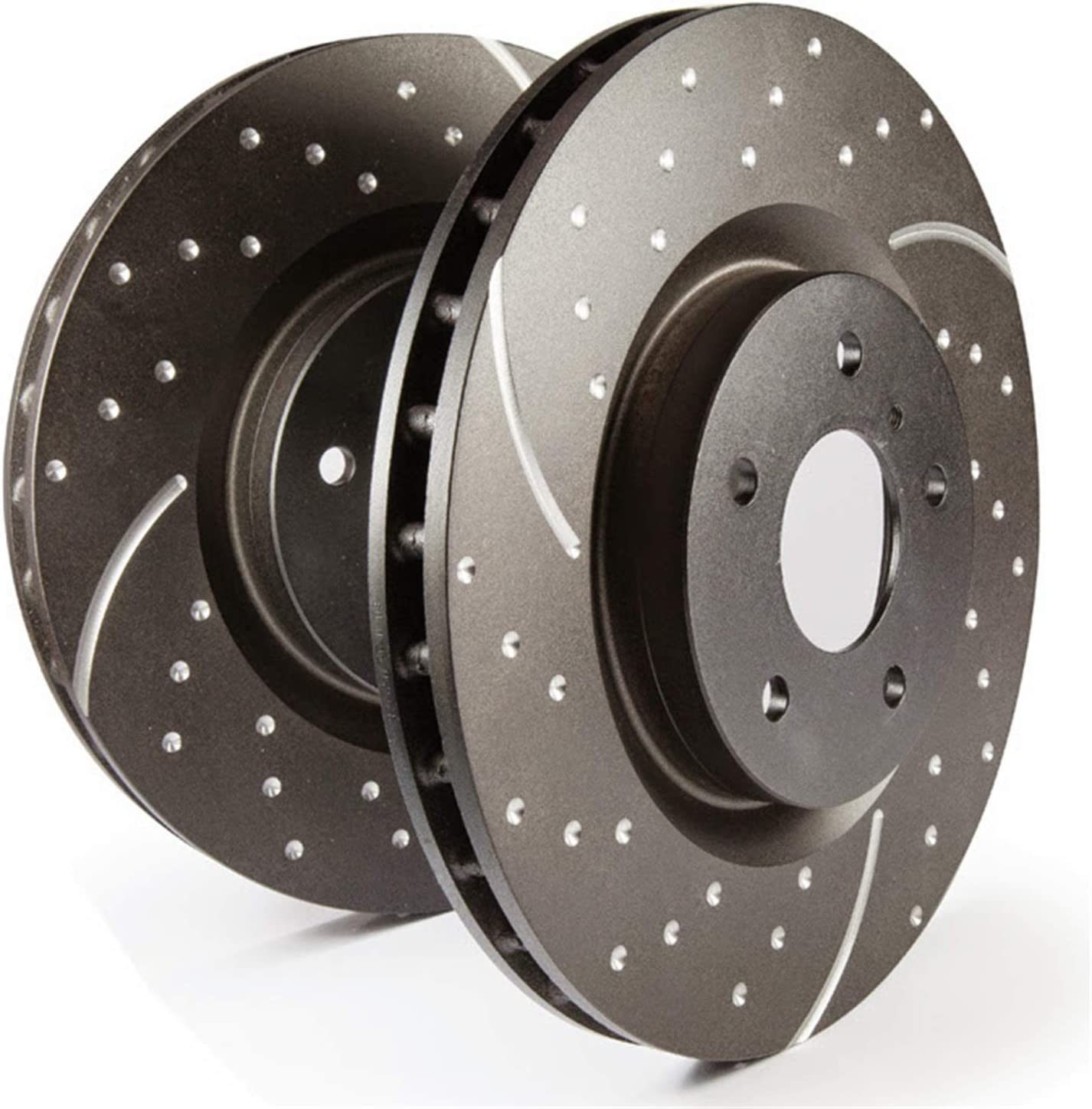 EBC Brakes GD7672 GD Sport Slotted and Dimpled High material Translated Rotor