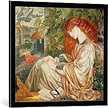 kunst für alle Framed Art Print: Dante Charles Gabriel Rossetti La Pia de Tolomei 1868-80