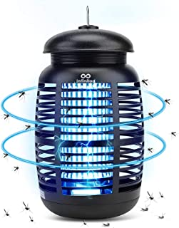 infinitoo Electric Mosquito Killer, Insect Killer, Fly Trap Electric Insect Mosquito Trap 15W 4200V, Waterproof Mosquito K...