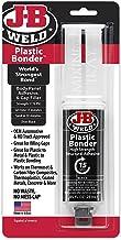 J-B Weld 50139 Plastic Bonder Body Panel Zelfklevende en Gap Filler Spuit - Droogt Zwart - 25 ml (2)