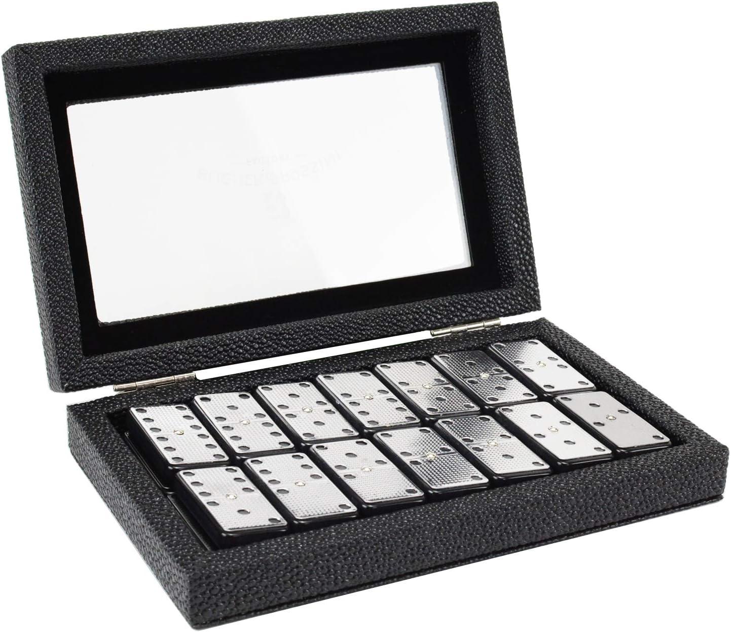 Metal Surface Dominoes Set Double 6 Premium Classic 28 Brand Max 46% OFF Cheap Sale Venue - Pieces