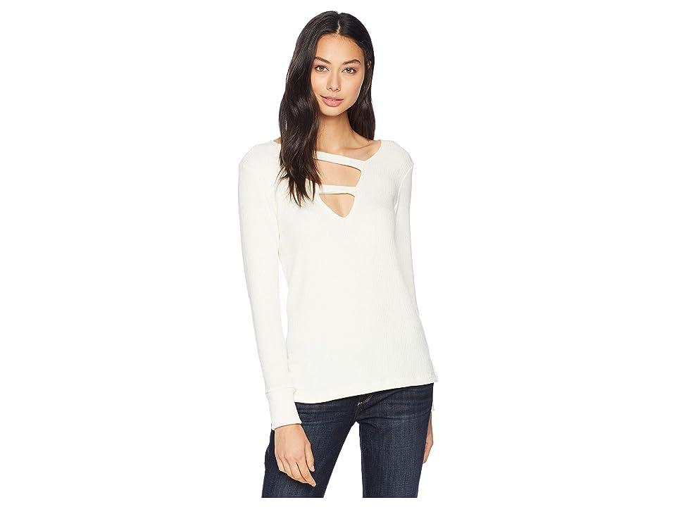 LNA Kindred Slub Sweater (Ivory) Women