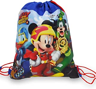 Disney & License Kids/Baby/Toddler Boys or Girls Sling Bag Allover Printed for Sport/Lunch/Toys etc (Mickey Mouse)