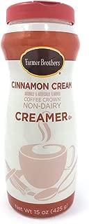Farmer Brothers Cinnamon Cream Non-Dairy Coffee Creamer, 15 oz
