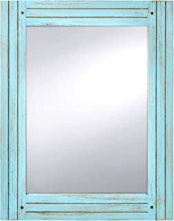 Best large blue wall mirror Reviews
