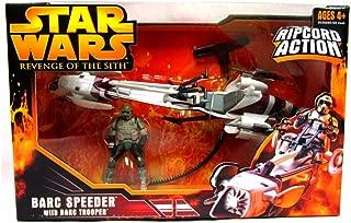 Hasbro Star Wars Episode 3 Barc Speeder withBarc Trooper