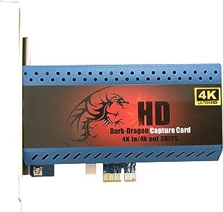 4K 対応 キャプチャーカード ゲーム PS4 Pro Xbox OneX gameplay Capture Card PCIe キャプチャー