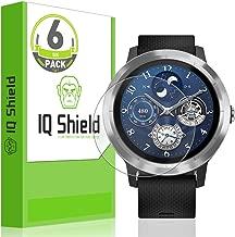 IQ Shield Screen Protector Compatible with Garmin Vivoactive 3 (6-Pack)(Full Coverage) Anti-Bubble Clear Film