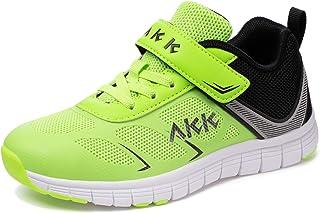 Akk Kids Sneaker Running Shoes - Boys & Girls Athletic Strap Tennis Lightweight Sport Gym Walking Shoes(Little Kid/Big Kid)