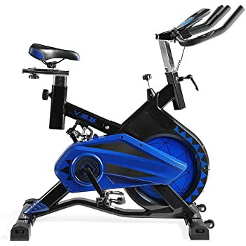 Deluxe Bicicleta Spinning Portátil Profesional Shark Totalmente Equipada: Amazon.es: Deportes y aire libre