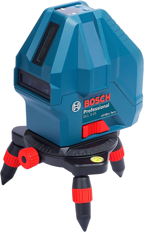 簡単な屋内作業に|ボッシュ レーザー墨出し器 GLL 3-15 X Professional