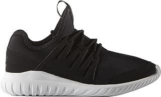Adidas Tubular Radial Kids Trainer - Black/Black/White