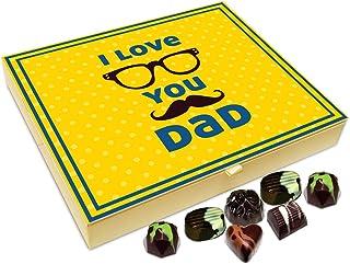 Chocholik Fathers Day Gift Box - I Love You Father Chocolate Box - 20pc