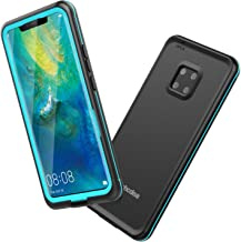 Mishcdea for Huawei Mate 20 Pro Waterproof Case Shockproof Snowproof Dirtproof Full Body Protective Case Only for Huawei Mate 20 Pro (Blue)