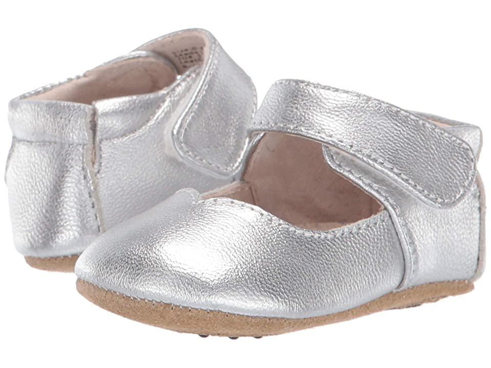 Livie & Luca Astrid (Infant) (Silver Metallic) Girl
