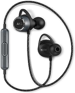 AKG N200 WIRELESS Bluetooth耳机适用于 Canal/AAC/apt-X/3键??仄?带通话麦克风 黑色 AKGN200BTBLK 【日本国内正规产品/厂家质保1年】