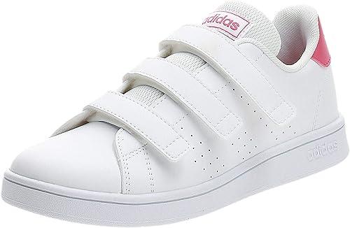 adidas Advantage C, Chaussure de Tennis Mixte Enfant : Amazon.fr ...