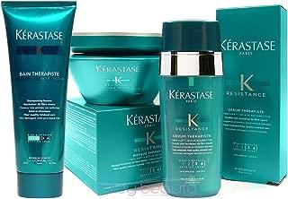 Kerastase Resistance Therapiste Shampoo Masque And Serum Trio