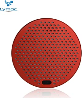 LYMOC U8S Metal Bluetooth Subwoofer Bass Cannon Wireless Speaker Box Portable Outdoor Loudspeaker Box Tactility Audio Inserts TF Card Reception MP3 Player for iPhone Android Phone (Red)