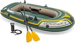 قارب مطاطي سي هوك 2 للصيد بمجدافين من انتكس 68347 - ألوان متعددة